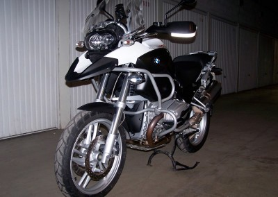 R1200 GS WITHE/BLACK