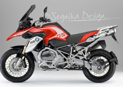 GS LC RED SERIES VAR.2 (SILVER)