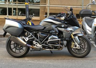 R1200 RS BLACK SATIN