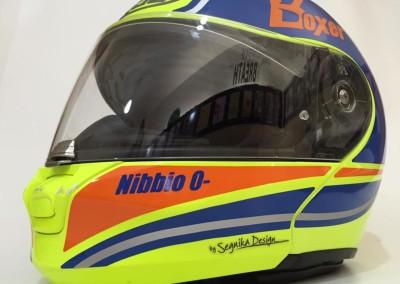 "CASCO HJC FLUO ""NIBBIO"""
